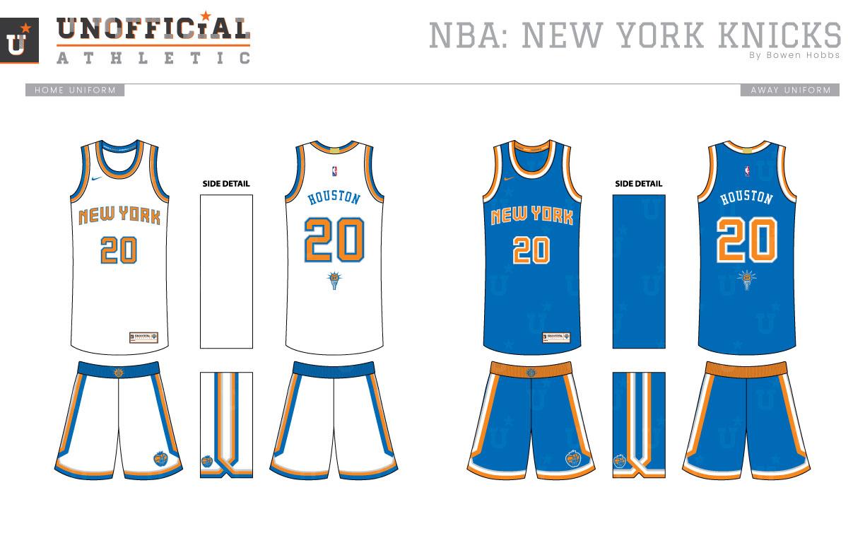 meet e8653 a8763 UNOFFICiAL ATHLETIC | New York Knicks Rebrand