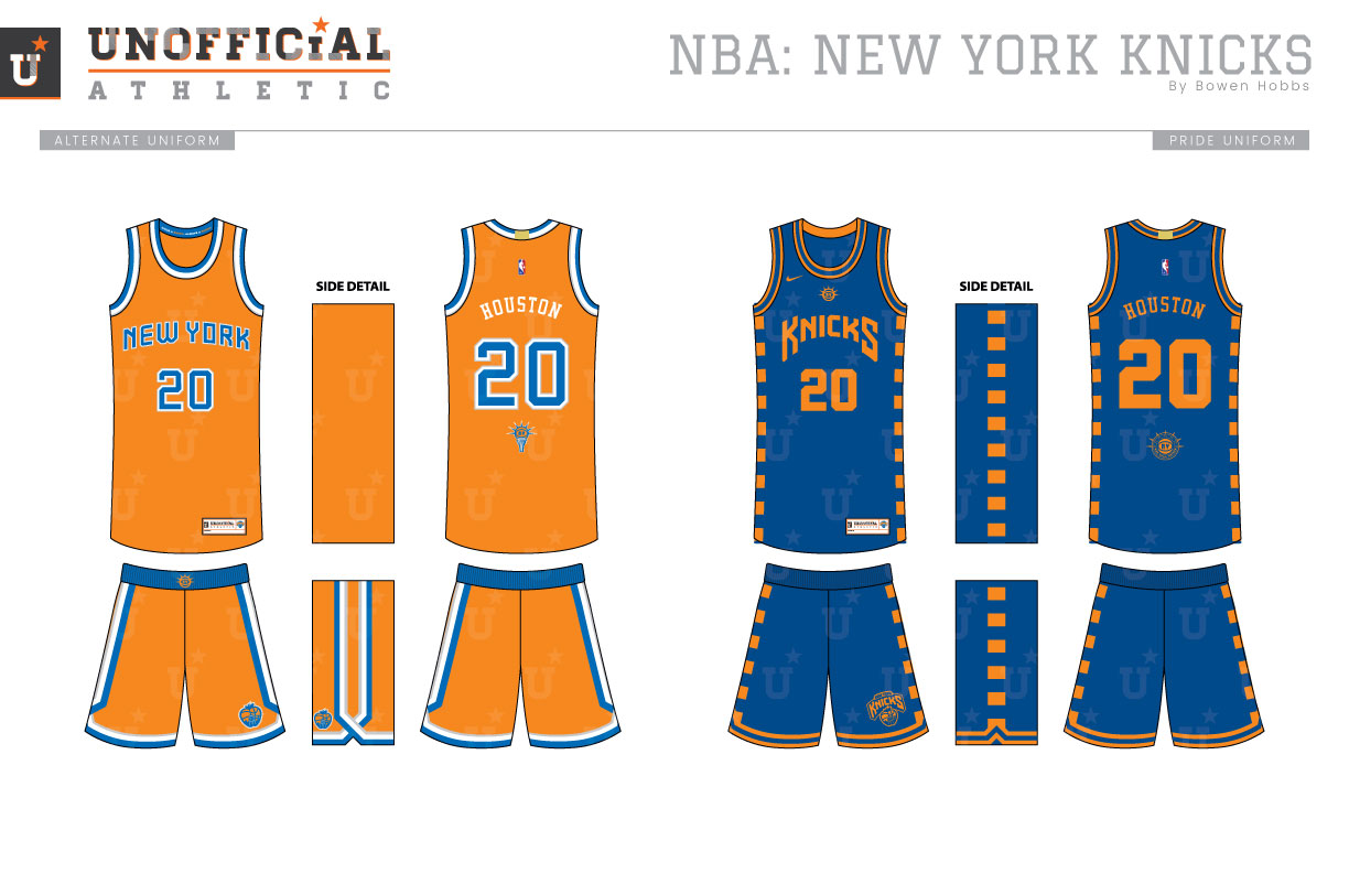 meet fa791 f4734 UNOFFICiAL ATHLETIC | New York Knicks Rebrand