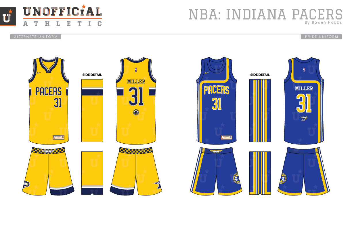 best sneakers a7be9 58bf1 UNOFFICiAL ATHLETIC | Indiana Pacers Rebrand