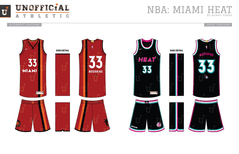 new concept 32f26 62f15 UNOFFICiAL ATHLETIC | Miami Heat Rebrand