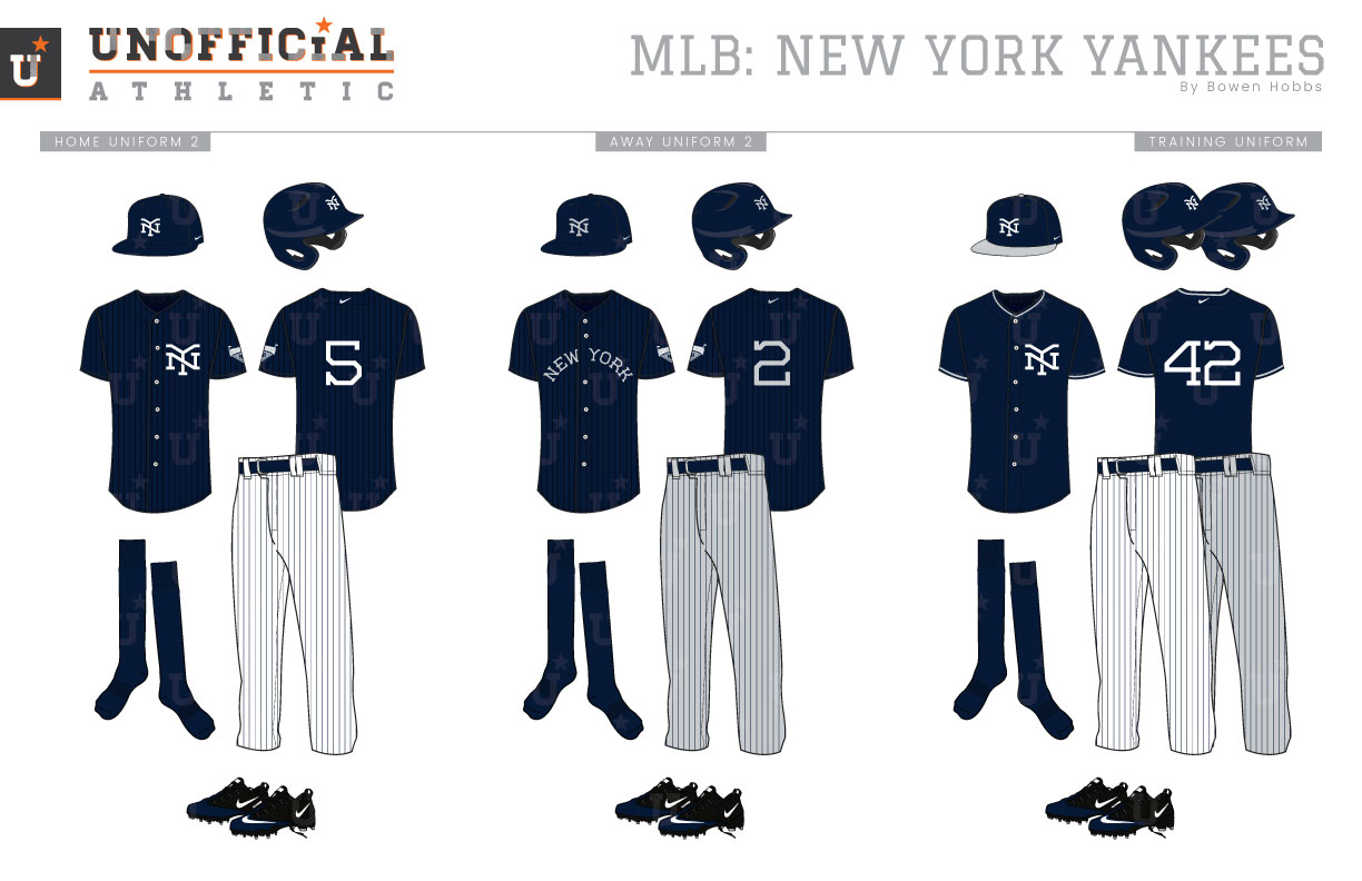new arrival 21784 9ace0 UNOFFICiAL ATHLETIC | New York Yankees Rebrand