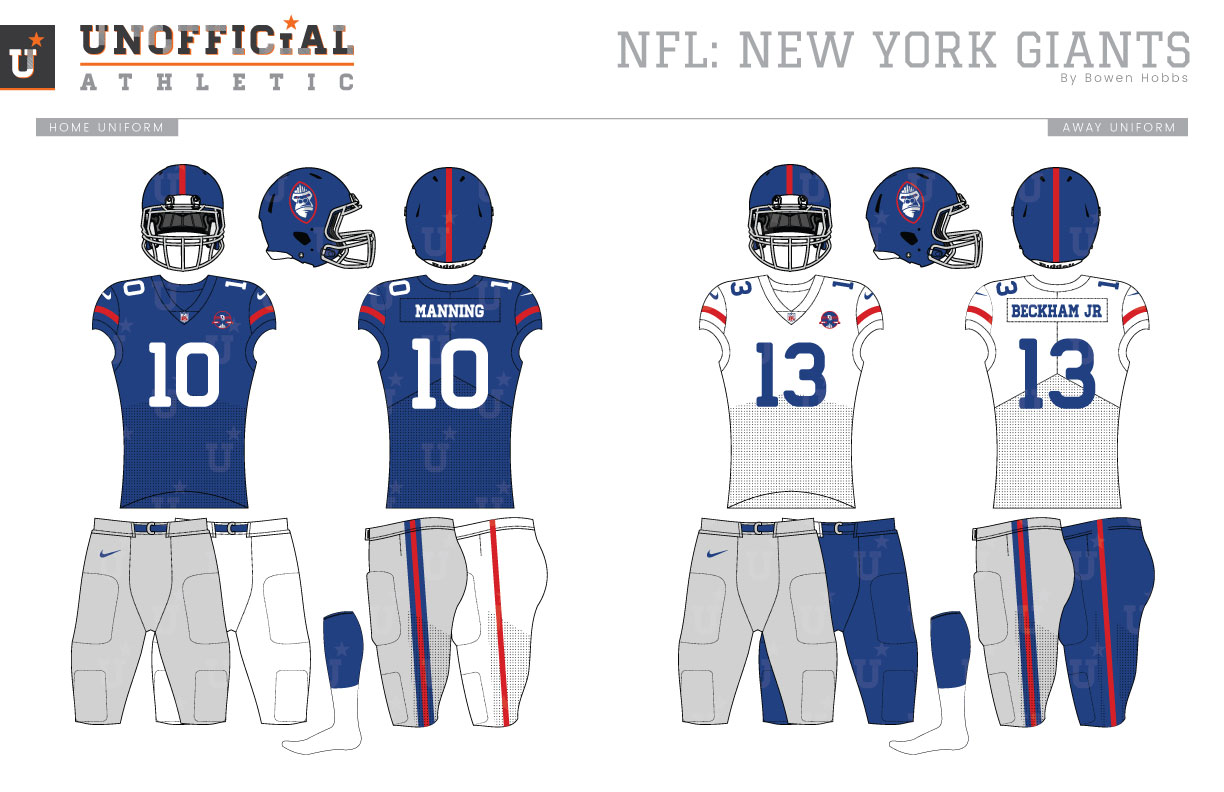 the best attitude a81db 90367 UNOFFICiAL ATHLETIC | New York Giants Rebrand