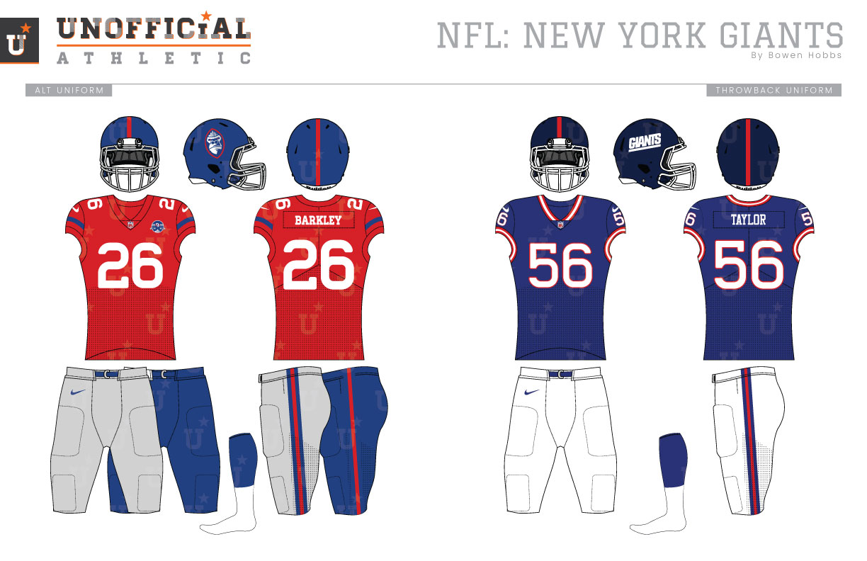 the best attitude eff73 19269 UNOFFICiAL ATHLETIC | New York Giants Rebrand