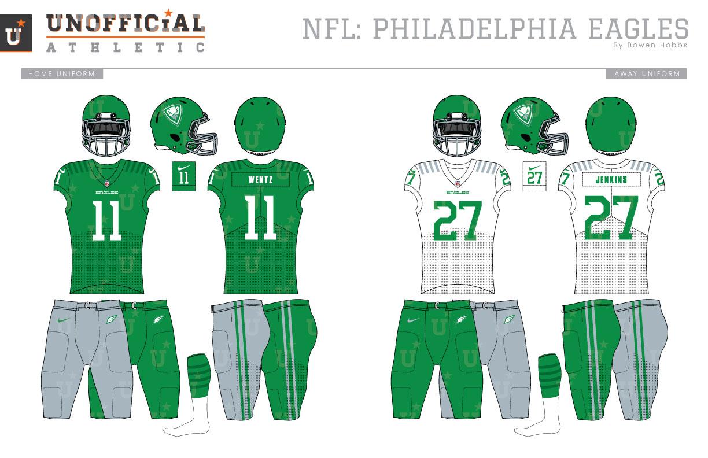 8c86c01f520 UNOFFICiAL ATHLETIC | Philadelphia Eagles Rebrand