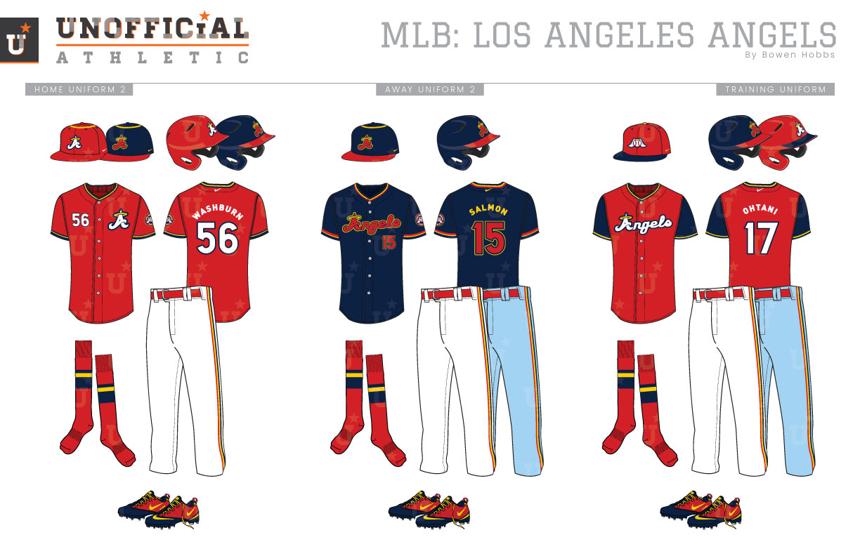 Unofficial Athletic Los Angeles Angels Rebrand