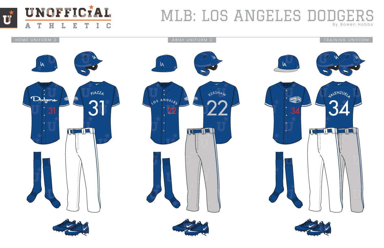 best service 85af1 c9adb UNOFFICiAL ATHLETIC | Los Angeles Dodgers Rebrand