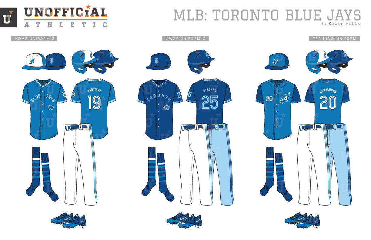 super popular b6399 bc305 UNOFFICiAL ATHLETIC | Toronto Blue Jays Home and Away ...