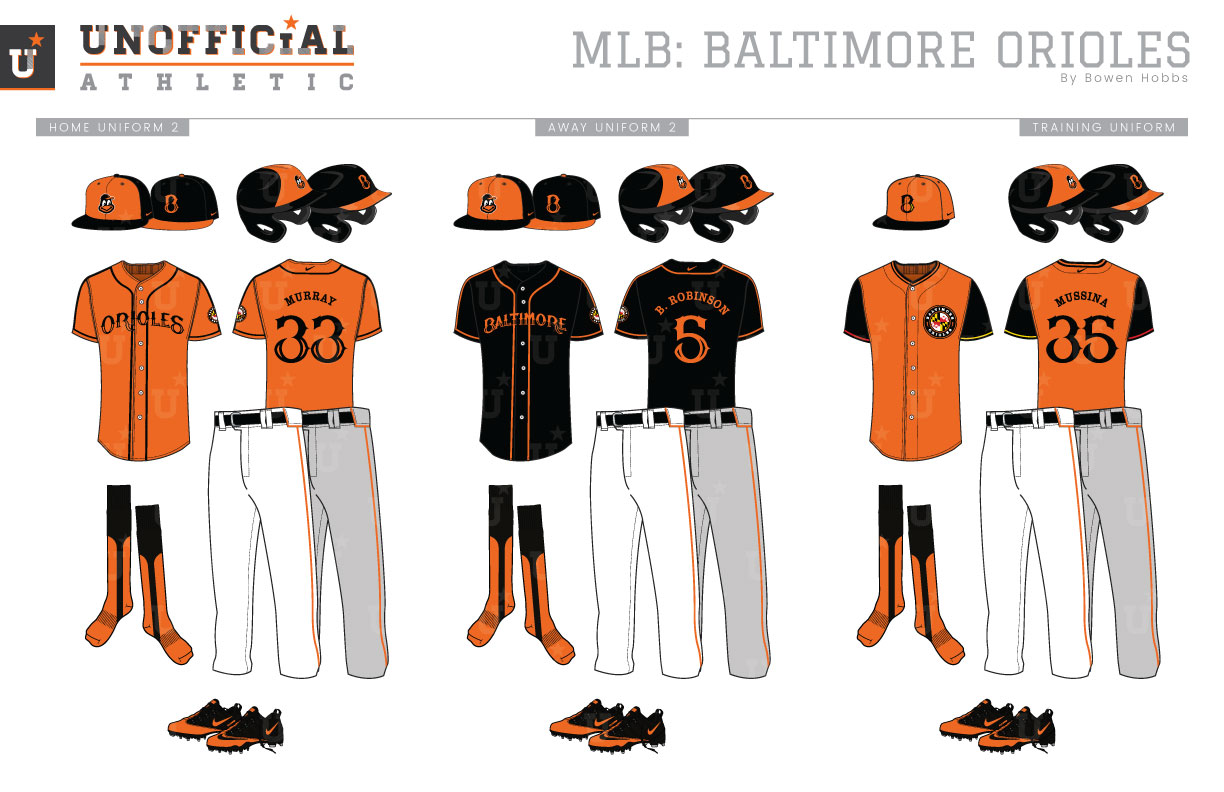 new style 573d5 eae1a UNOFFICiAL ATHLETIC | Baltimore Orioles Rebrand