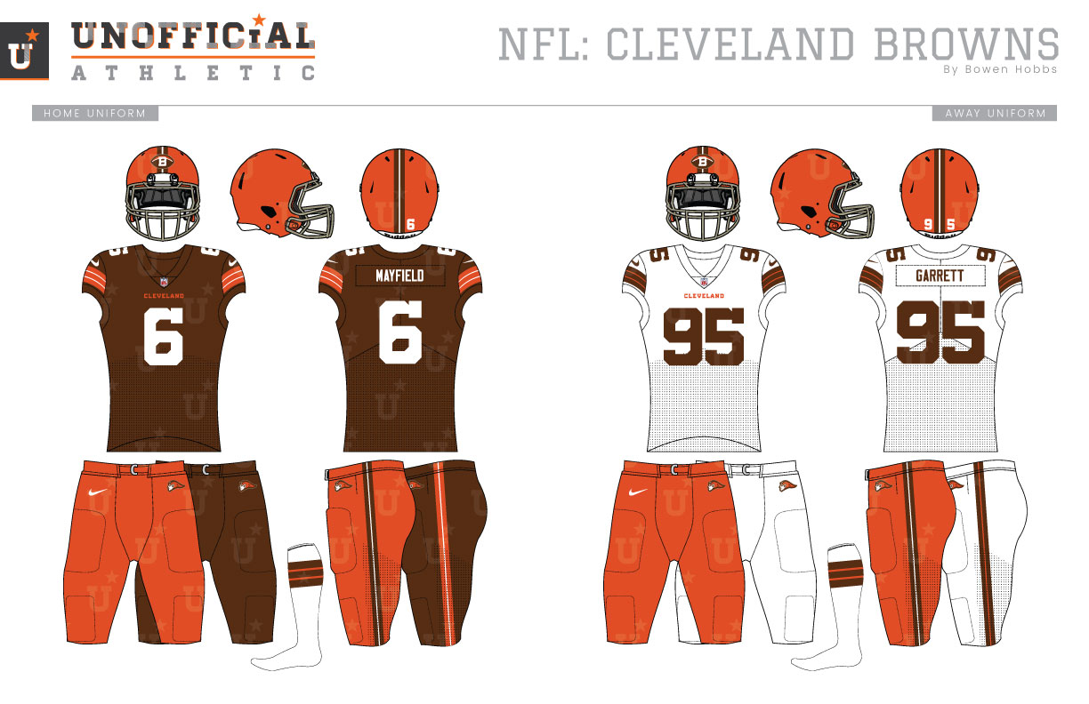 New UNOFFICiAL ATHLETIC | Cleveland Browns Rebrand
