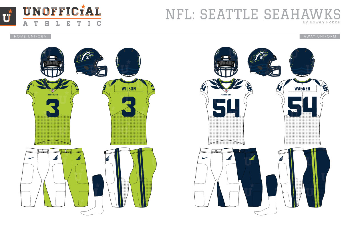 Unofficial Athletic Seattle Seahawks Rebrand